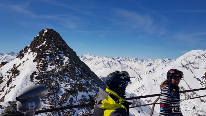 Stubaier Gletsjer Uitzichtplatform