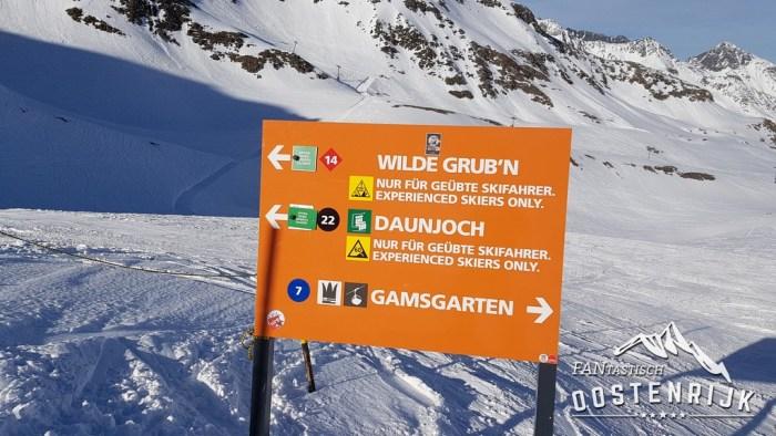 Stubaier Gletsjer Skiroute 14