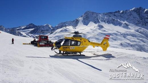 Talrijke skiongevallen op de diverse pistes!