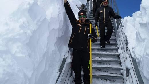 Stubaier Gletsjer uitzichtplatform weer toegankelijk