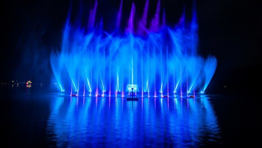 De Magic Lake Show in Zell am See