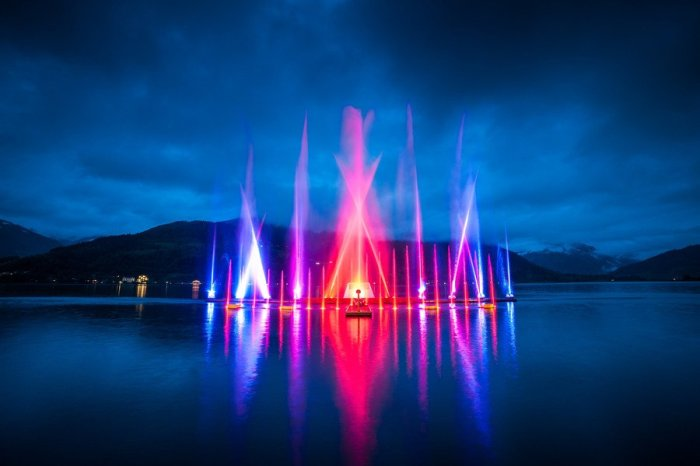 Zell am See Magic Lake Show