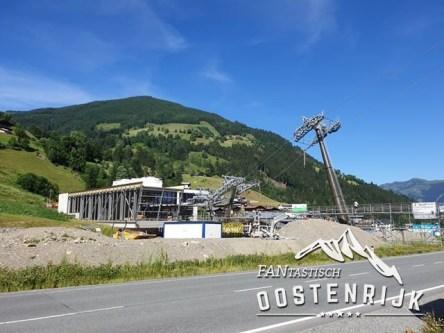 Zell am See Express bouwwerkzaamheden