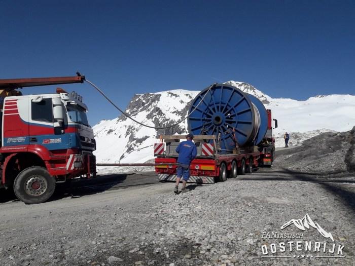 Hintertux transport kabel Gletscherbus 3