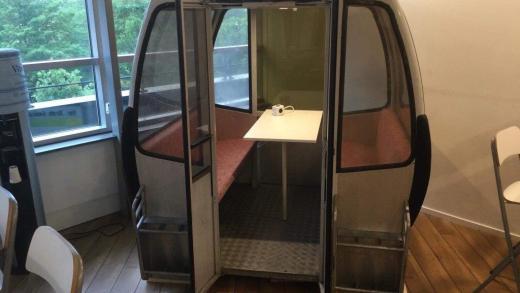 Gondels Fleckalmbahn gespot in Nederland