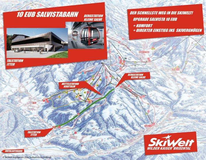 Salvista Hopfgarten Itter SkiWelt
