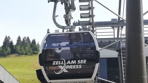 Zell am See Xpress 1e gondel