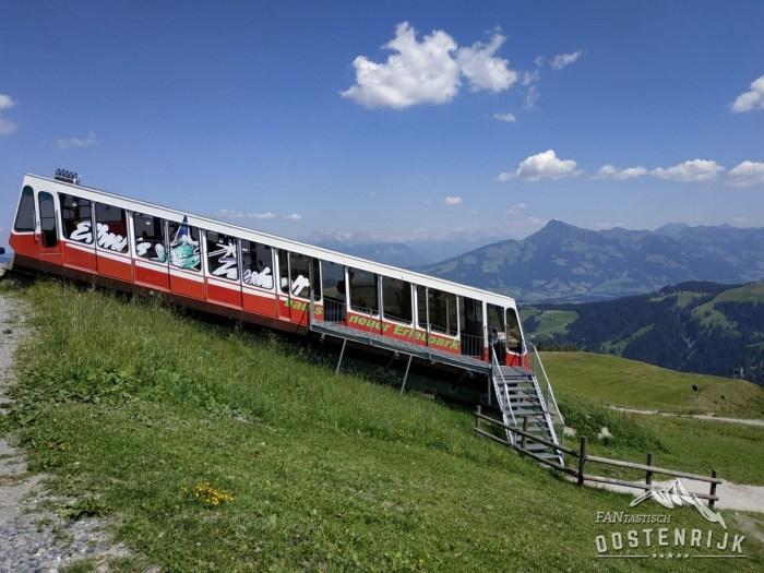 Ellmau Hartkaiserbahn treintje
