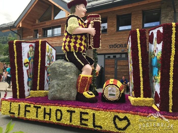 Bloemencorso Kirchberg in Tirol