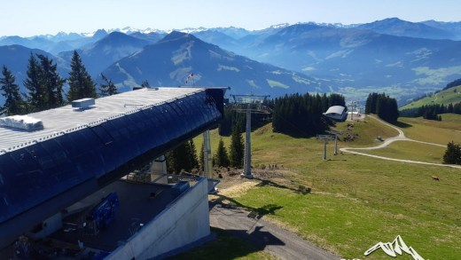 Brixen im Thale Zinsbergbahn Bouwupdate