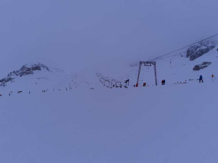 Stubaier Gletsjer 24 november 2019