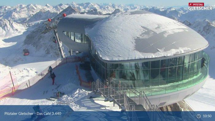 Pitztaler Gletsjer 4 nov 2019 2