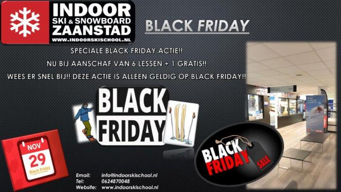 IndoorSki Zaandam Black Friday