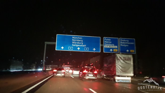 File in Duitsland A3 Autobahn