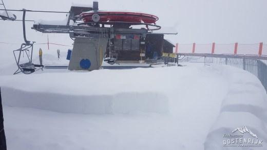 Westendorf Talkaser halve meter sneeuw