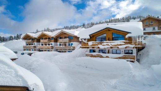 Een witte kerst in Oostenrijk