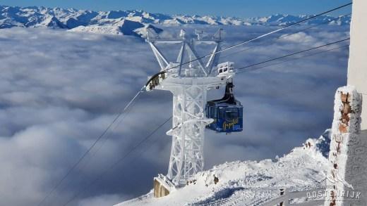 Kitzbüheler Horn, hoe ziet het er uit in de Winter