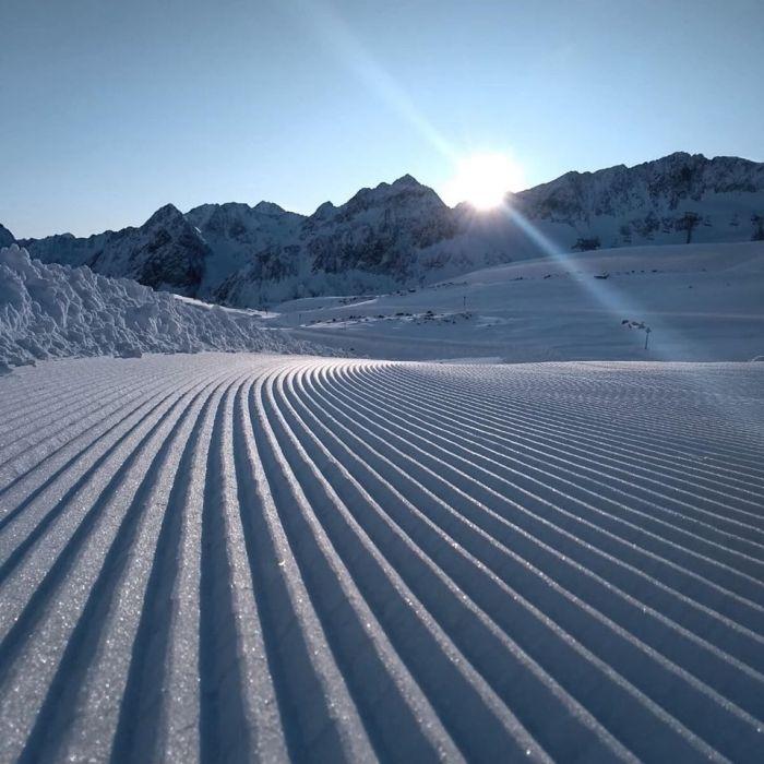 Stubaier Gletsjer ribbelpiste