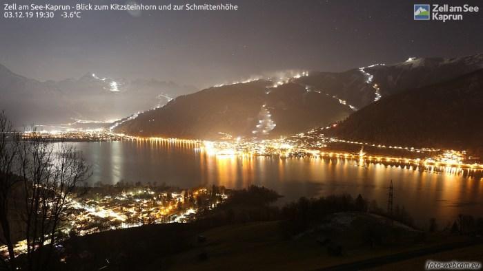 Zell am See topfoto sneeuwkanonnen