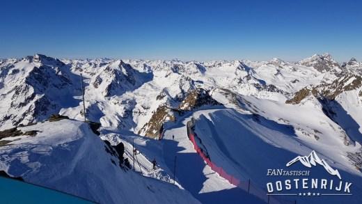 Pitztaler Gletsjer genoeg sneeuw en alles open!
