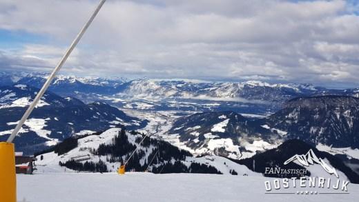 Hohe Salve uitzicht op Inntal Wörgl