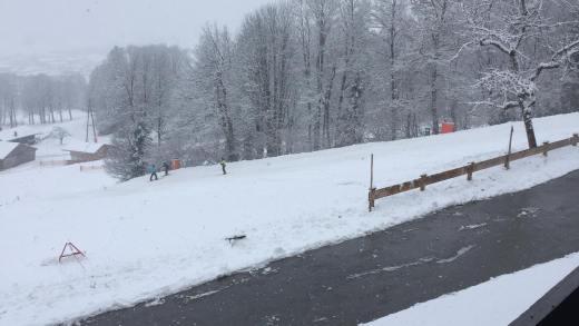 Vandaag nog een sneeuwbui, vanaf morgen Kaiserwetter