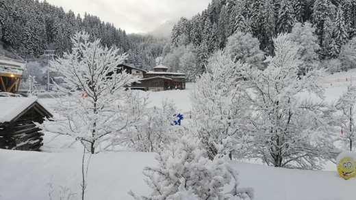 Winter terug in Oostenrijk