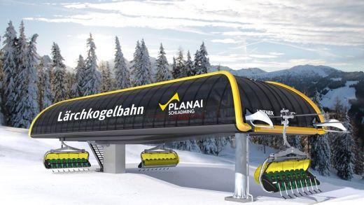 Planai Schladming bouwt nieuwe lift