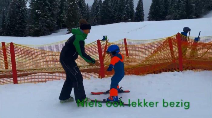 Niels bij skischule Aktiv