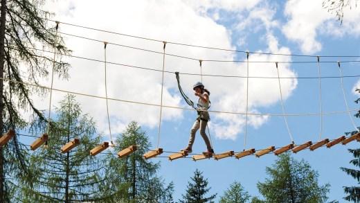 XP Abenteuerpark in Jerzens Pitztal