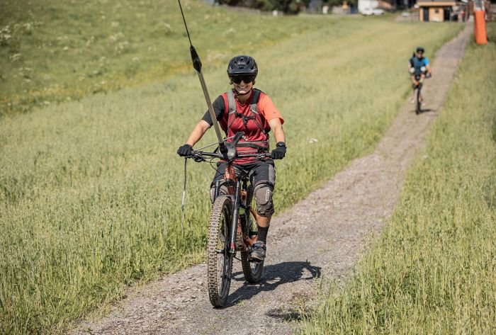 Oberndorf 1e sleeplift Mountainbikers