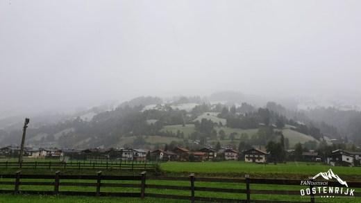 Sneeuwgrens Brixental naar 1000 meter