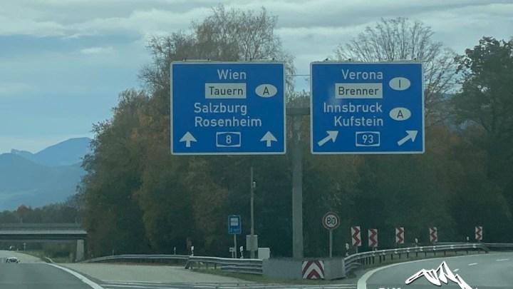 Autobahn Salzburg Inntal