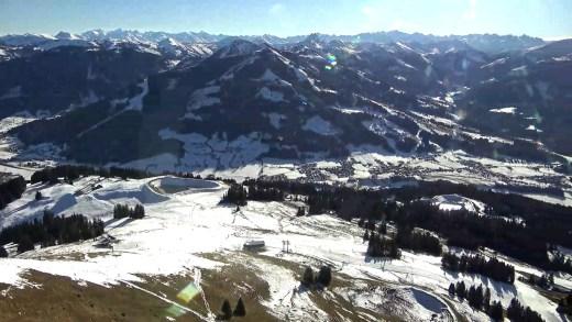 Hohe Salve met uitzicht op Brixental en Westendorf