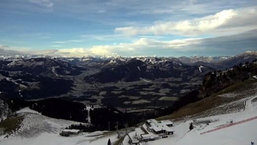 Brixental gezien vanaf Kitzbüheler Horn