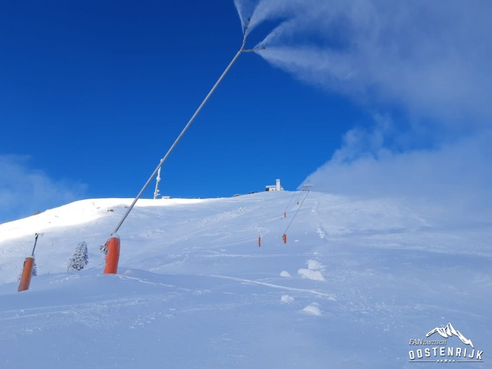 Hohe Salve sneeuwkanonnen