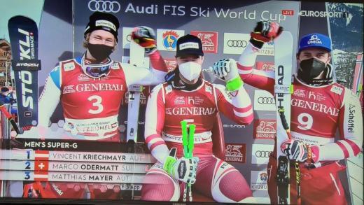 Kitzbühel SuperG gewonnen door Vincent Kriechmayr