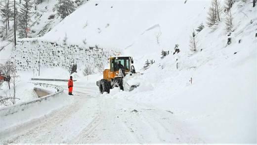 Afsluitingen in Tirol door lawinegevaar