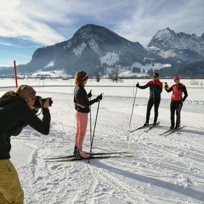 Langlauf St Johann in Tirol