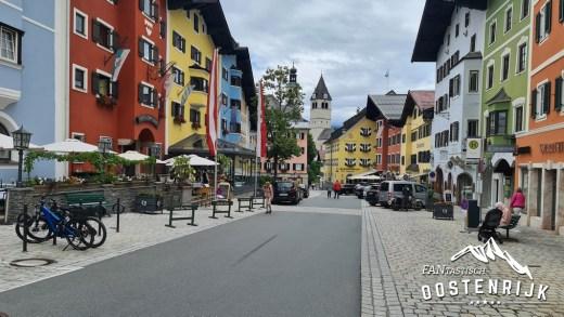 Kitzbühel binnenstad centrum