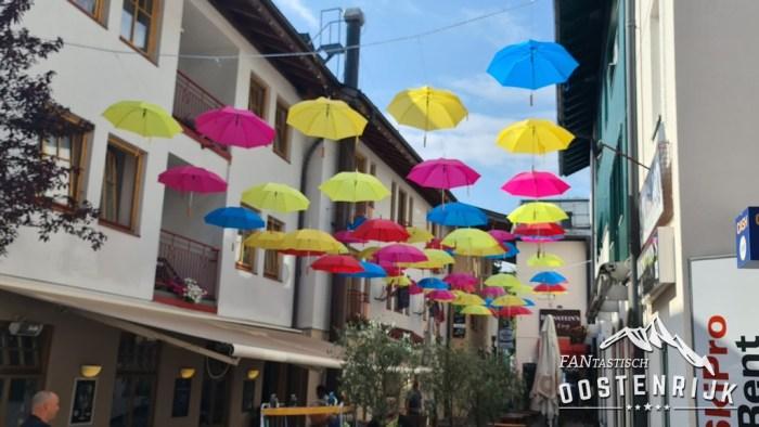 Zell am See en paraplu's