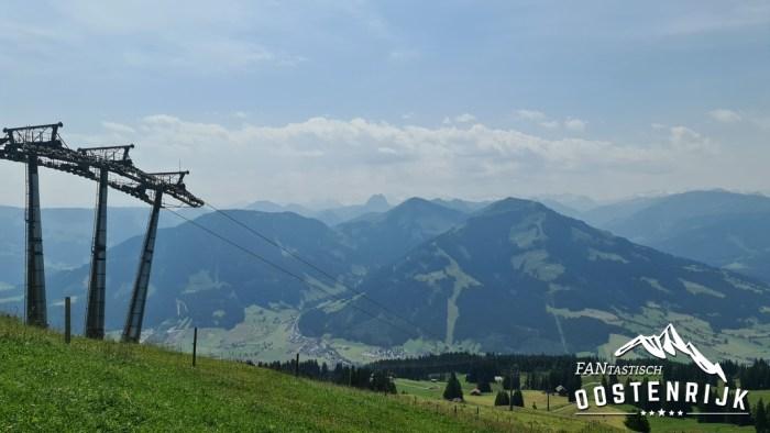Brixen im thale vanaf Jochbahn naar Westendorf