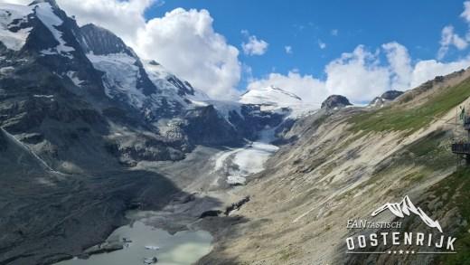 Grossglockner Hochalpenstrasse Gletsjer