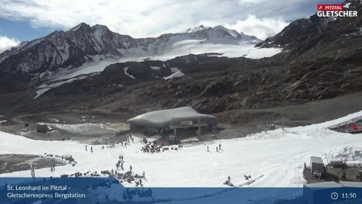 Pitztaler Gletsjer 2840 meter