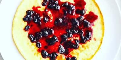 Fantastiske marka_pannekaker med blåbær
