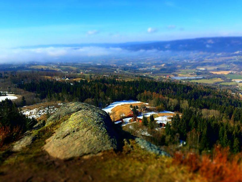 Utsikten fra Glasåsen - Vestmarka - Oslomarka - Fantastiske marka