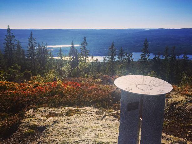 Utsikt mot øst fra Paradiskollen - Oslomarka - Romeriksåsene - Fantastiske marka