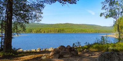 Teltplass ved Store Skillingen - Oslomarka - Nordmarka - Fantastiske marka