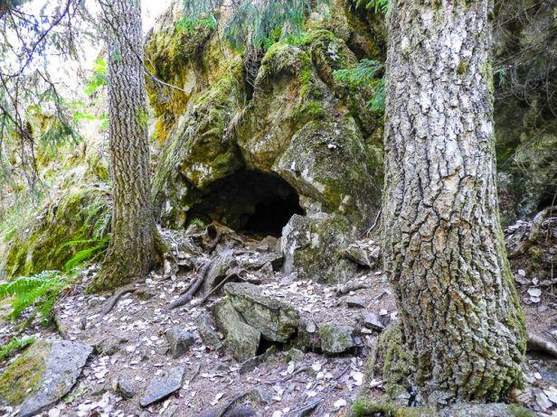 Bjørnehiet ved Hagahogget i Vestmarka - Oslomarka - Fantastiske marka