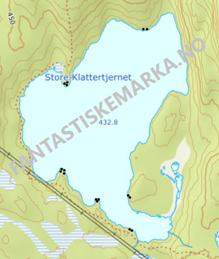 Leirplasser - Store Klattertjernet - Oslomarka - Nordmarka - Fantastiske marka
